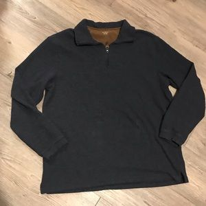 Hudson River Sweater Long Sleeve Half Zip